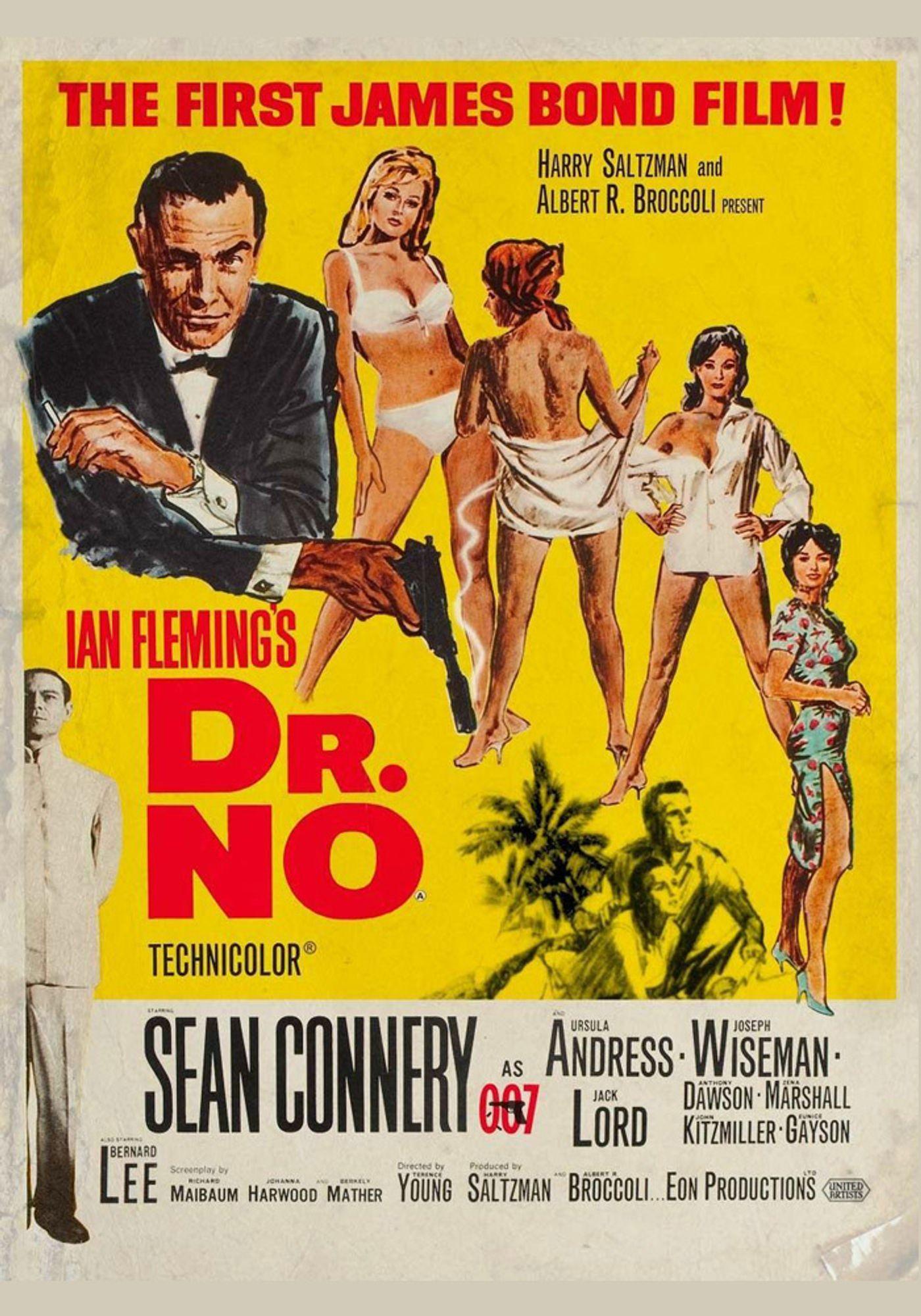 Dr. No (V.O.)