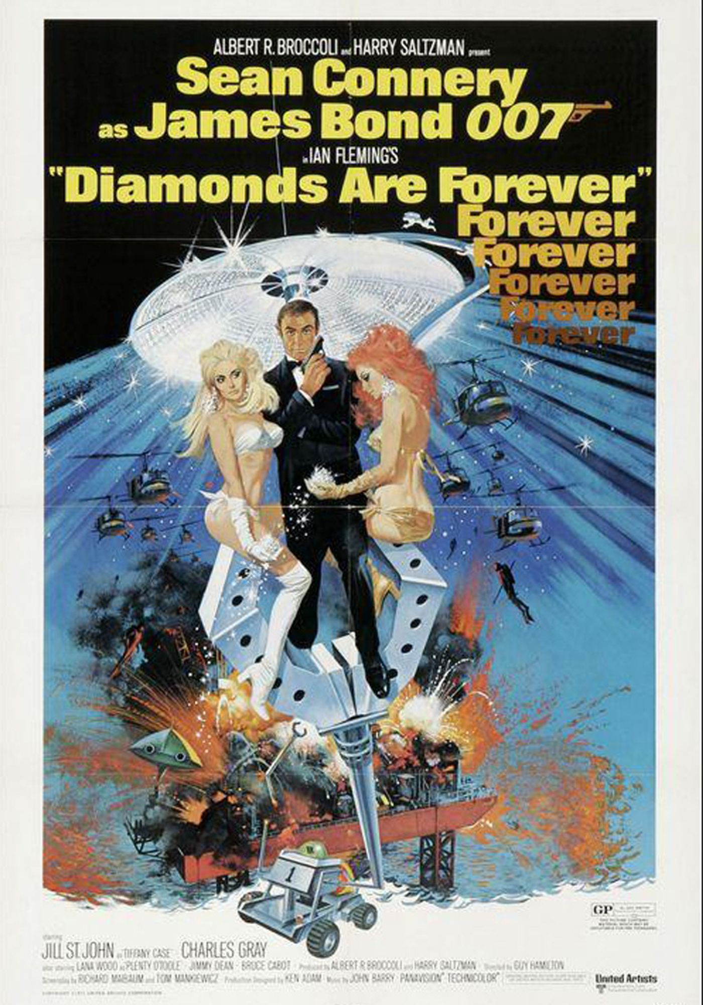 Diamonds are forever V.O.