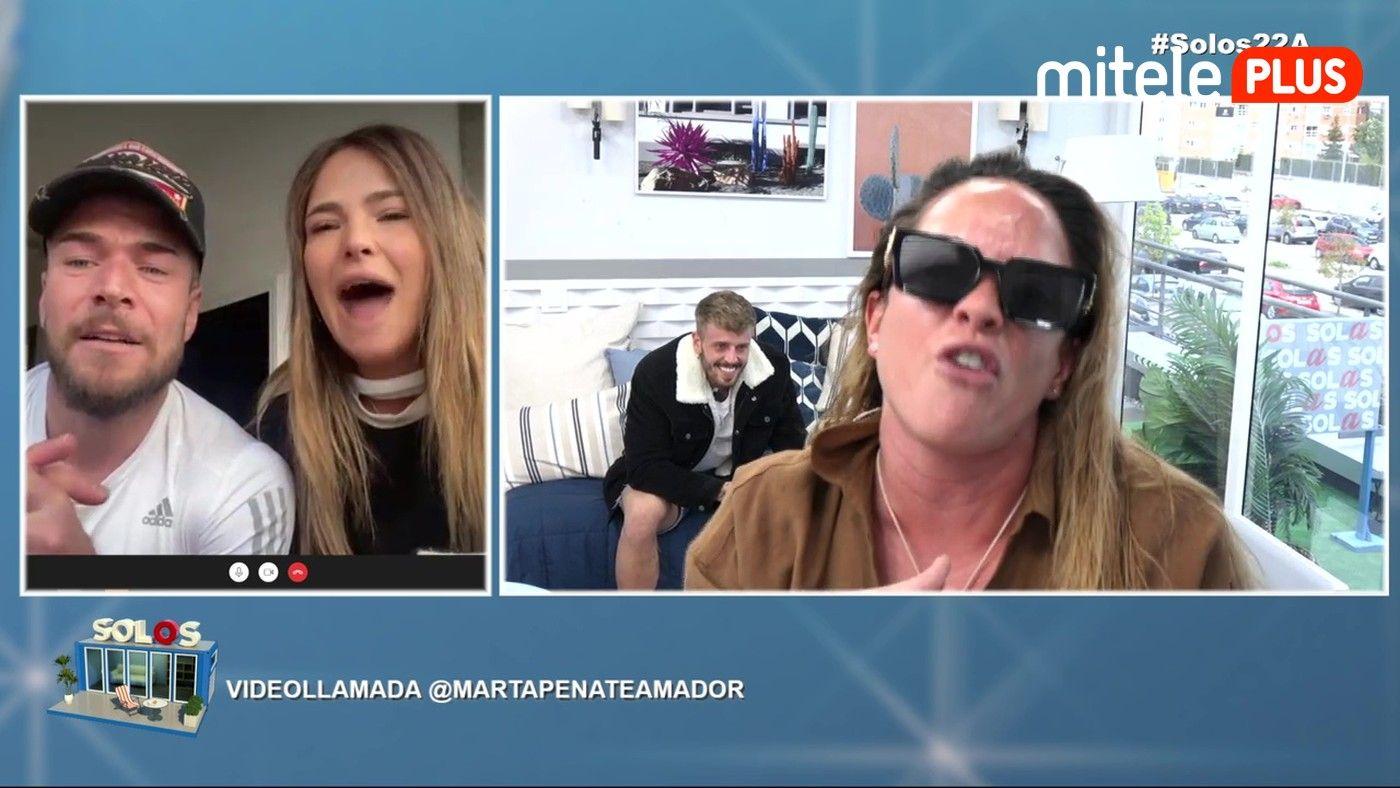 Videollamada con Marta Peñate