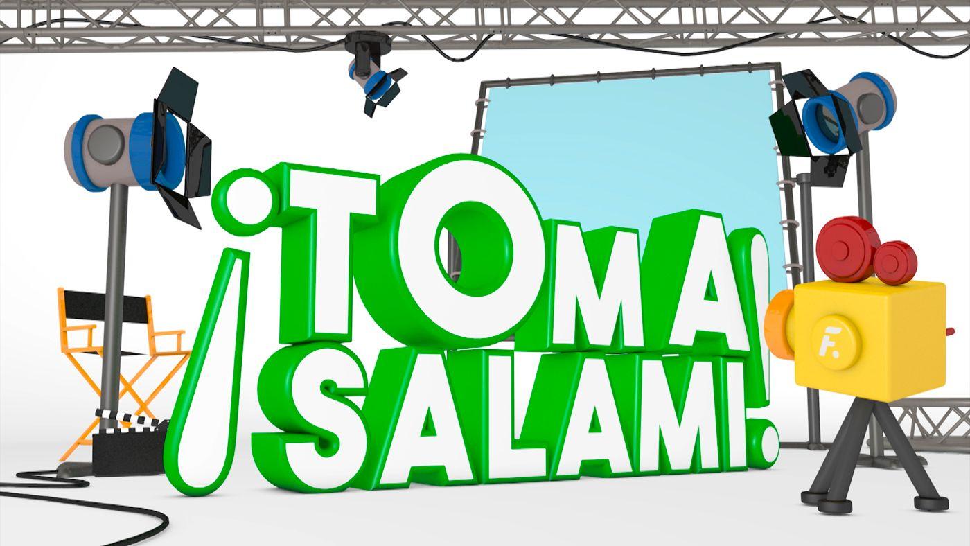 ¡Toma salami!