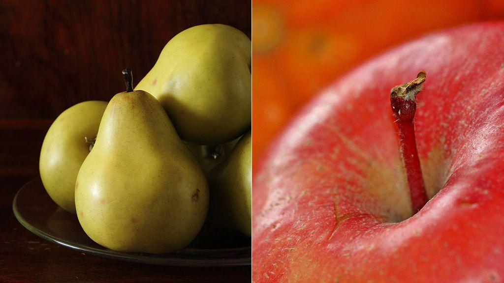 pera manzana