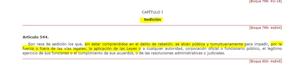 sedición