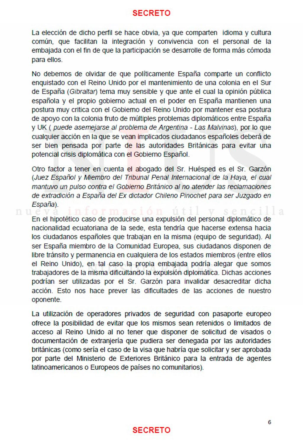 Documento Assange