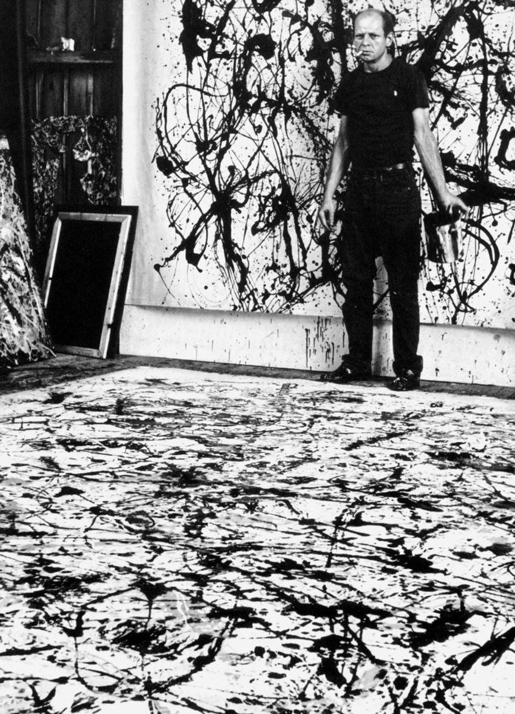 La mecánica de fluidos que explica la pintura de Pollock