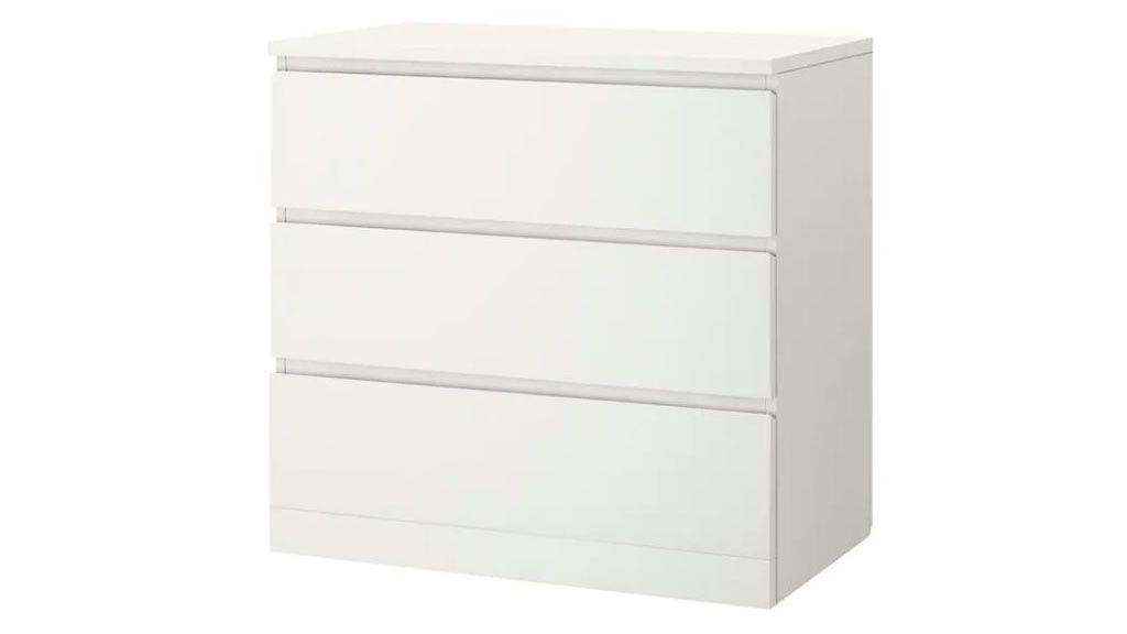 Cómoda de la serie Malm, de Ikea