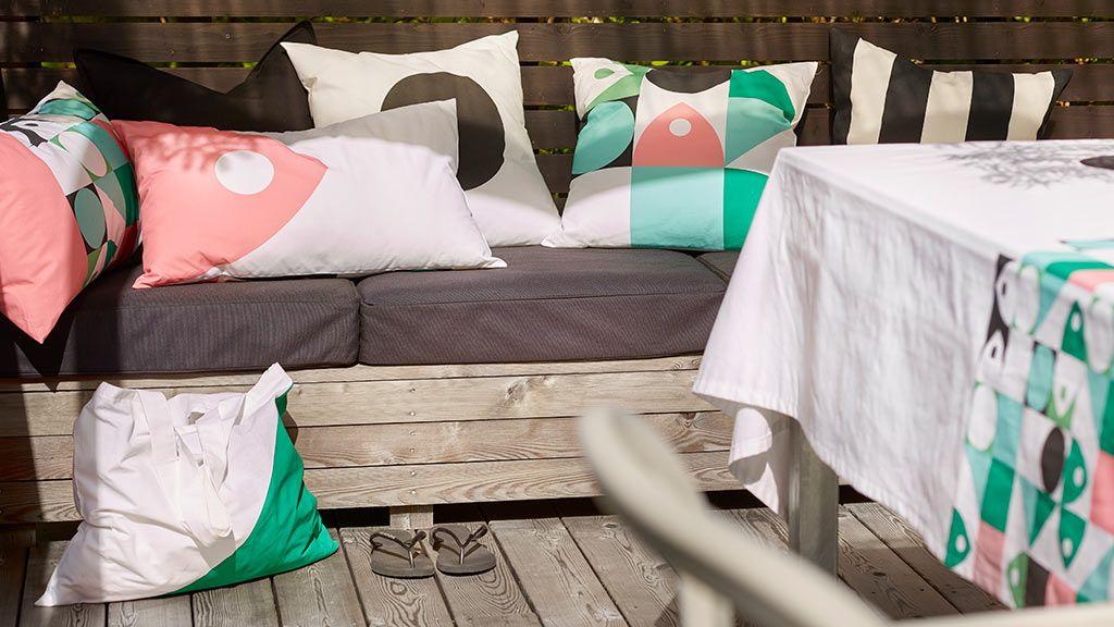 La nueva colección textil de Ikea elaborada con plástico reciclado