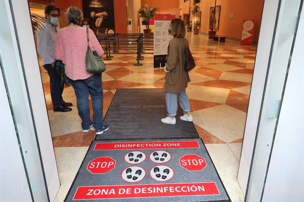El Thyssen reabre sus puertas al público