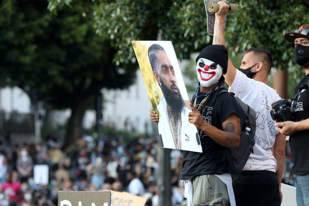 Protestas en Los Ángeles por la muerte de George Floyd