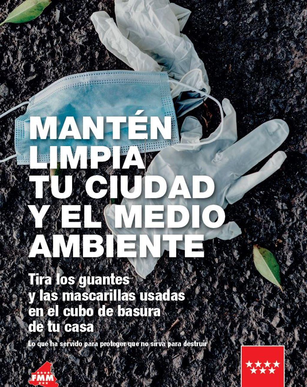 Cartel de la campaña de la Comunidad de Madrid
