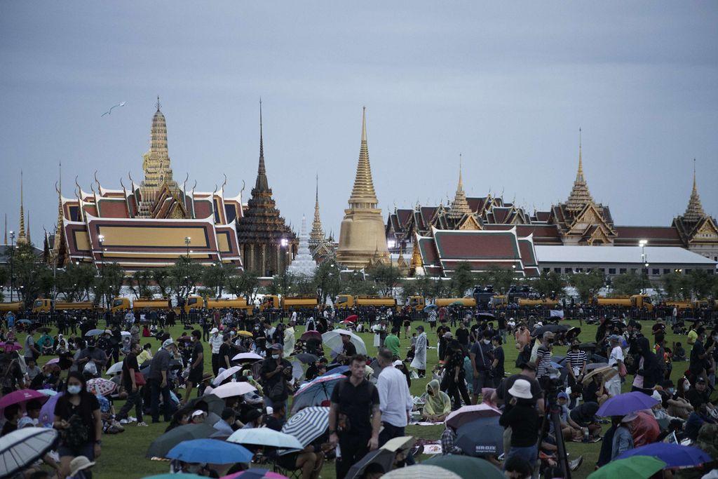 Protestas en Tailandia contra la monarquía y el Gobierno