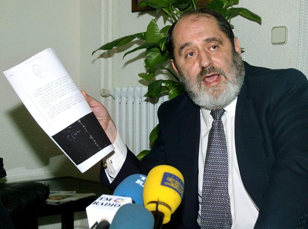 El abogado Emilio Rodríguez Menéndez.