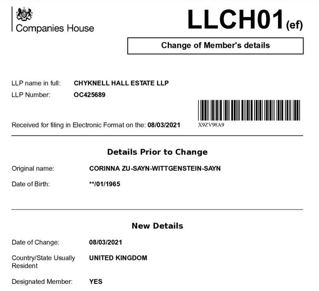 Documentos de Londres