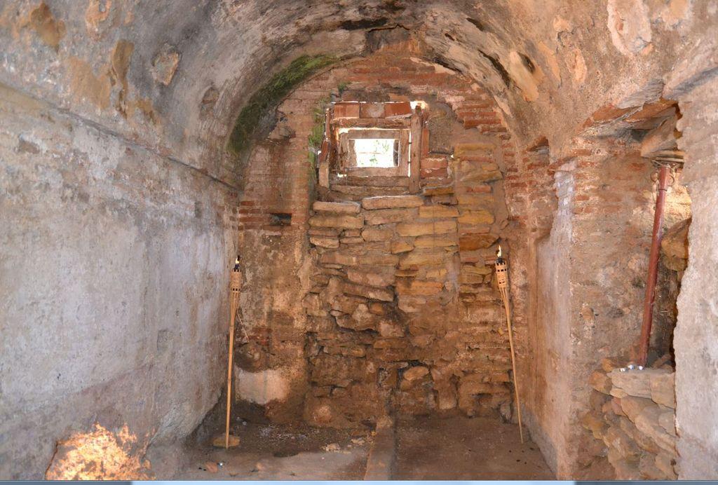 Baños árabes en Churriana de la Vega.