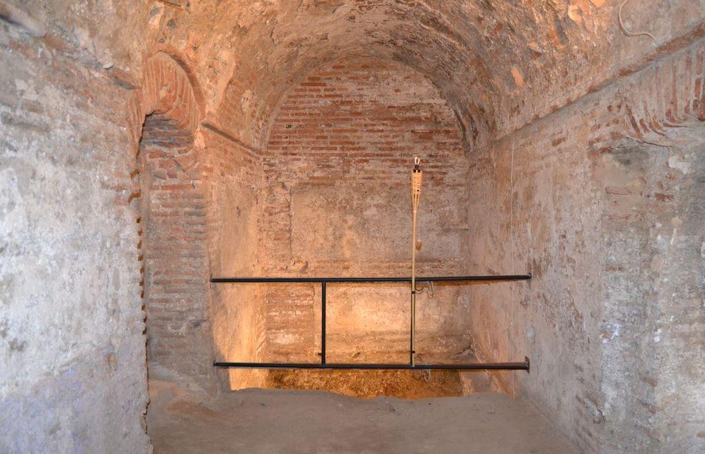 Baños árabes dentro de una vivienda en Churriana de la Vega