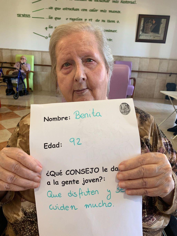 Benita, 92 años.