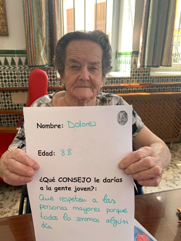 Dolores, 88 años.
