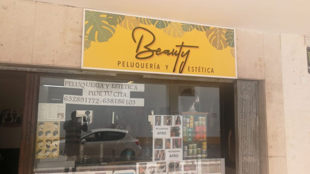 Peluquería Beauty, en Jerez de la Frontera.