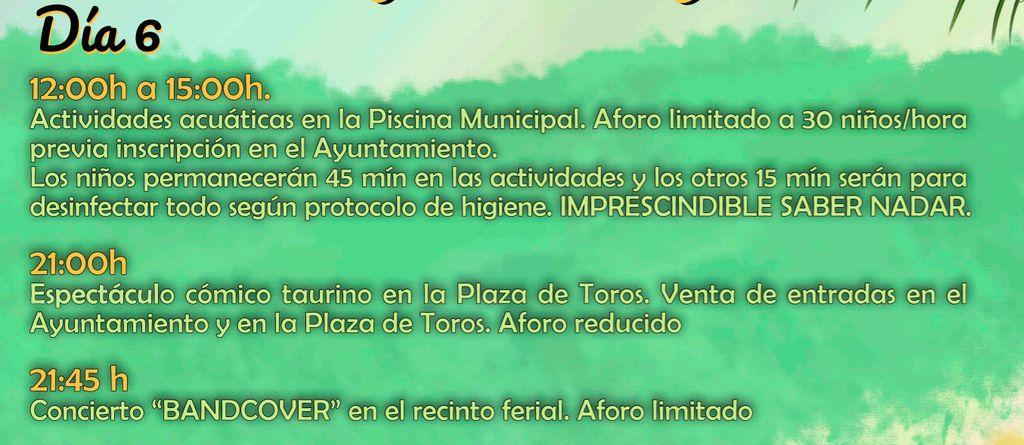 Cartel Ayuntamiento de Zahínos
