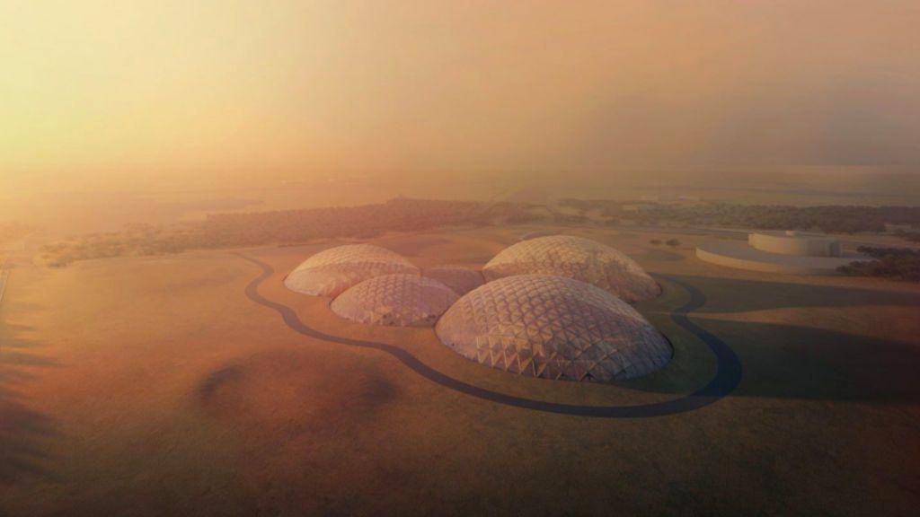 Dubái diseña una ciudad con estética de Marte en mitad del desierto