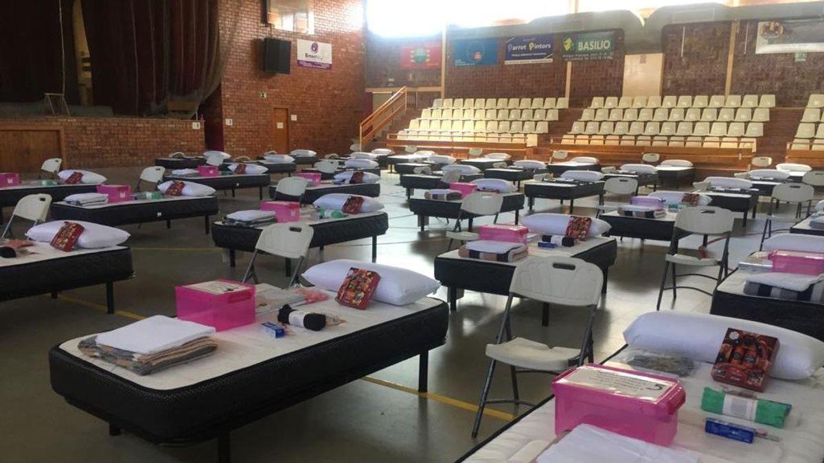 Los temporeros de Huesca afectados por los brotes de coronavirus serán alojados en instalaciones acondicionadas por el Ejército