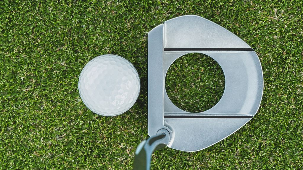Face balanced de un putter de golf