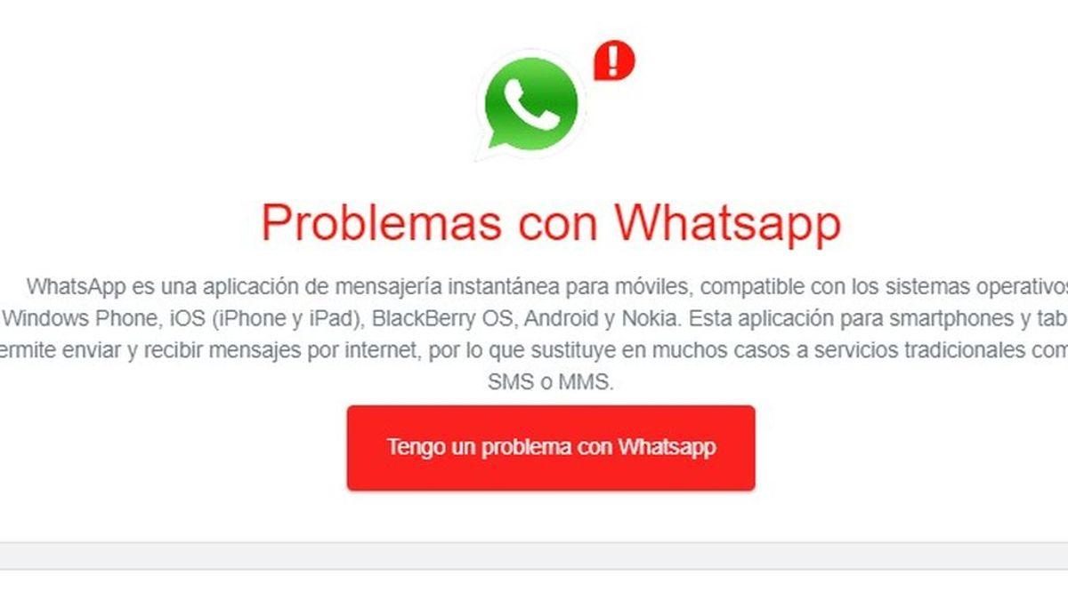 WhatsApp sufre una caída de media hora y los usuarios se atacan