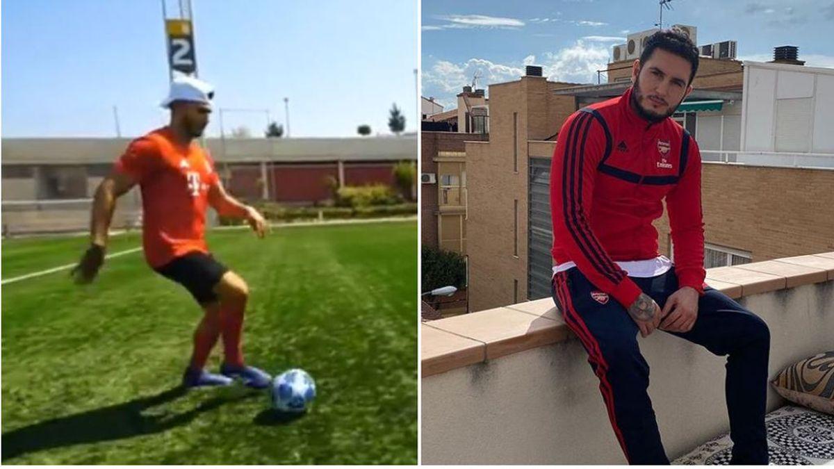 """Omar Montes se renta con el youtuber 'Delantero09' a echar unos tiros: """"Y eso que el portero era una fiera"""""""