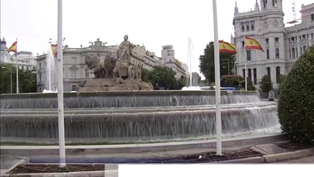 La Plaza de Cibeles en Madrid.