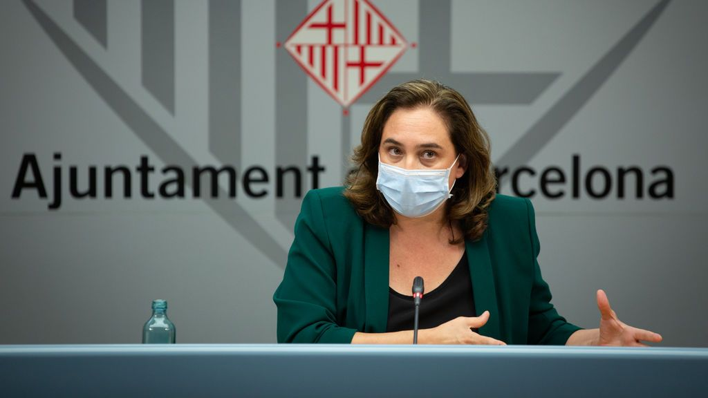 """Colau, sobre el aumento de contagios en Barcelona:""""Tal vez debamos dar un paso atrás"""""""