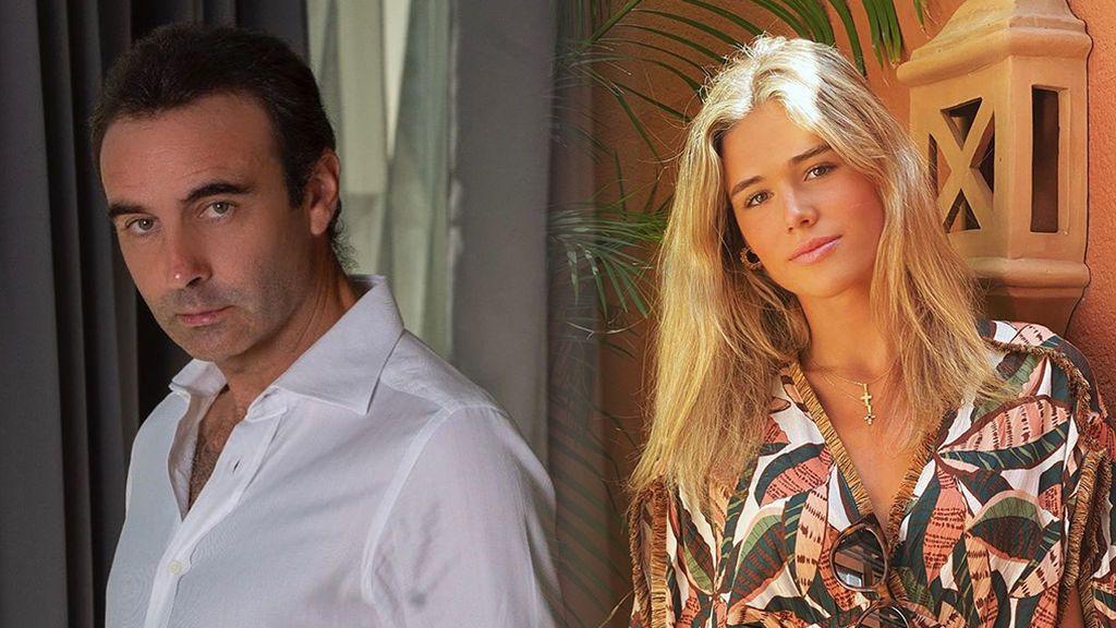 Enrique Ponce y Ana Soria disfrutan en Mojácar de sus primeras vacaciones juntos