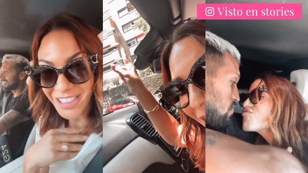 Tamara Gorro recuerda su primer beso con Ezequiel Garay