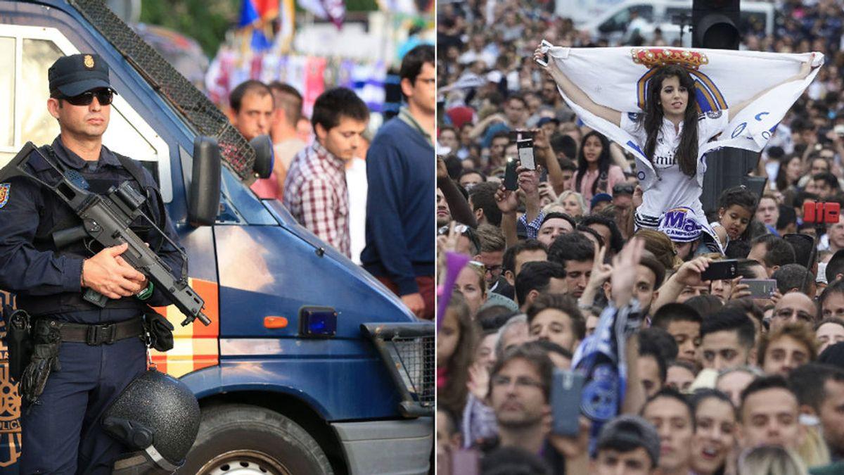 El plan de la policía para evitar celebraciones en Cibeles si el Madrid gana la Liga: 300 agentes y ampliación de perímetro