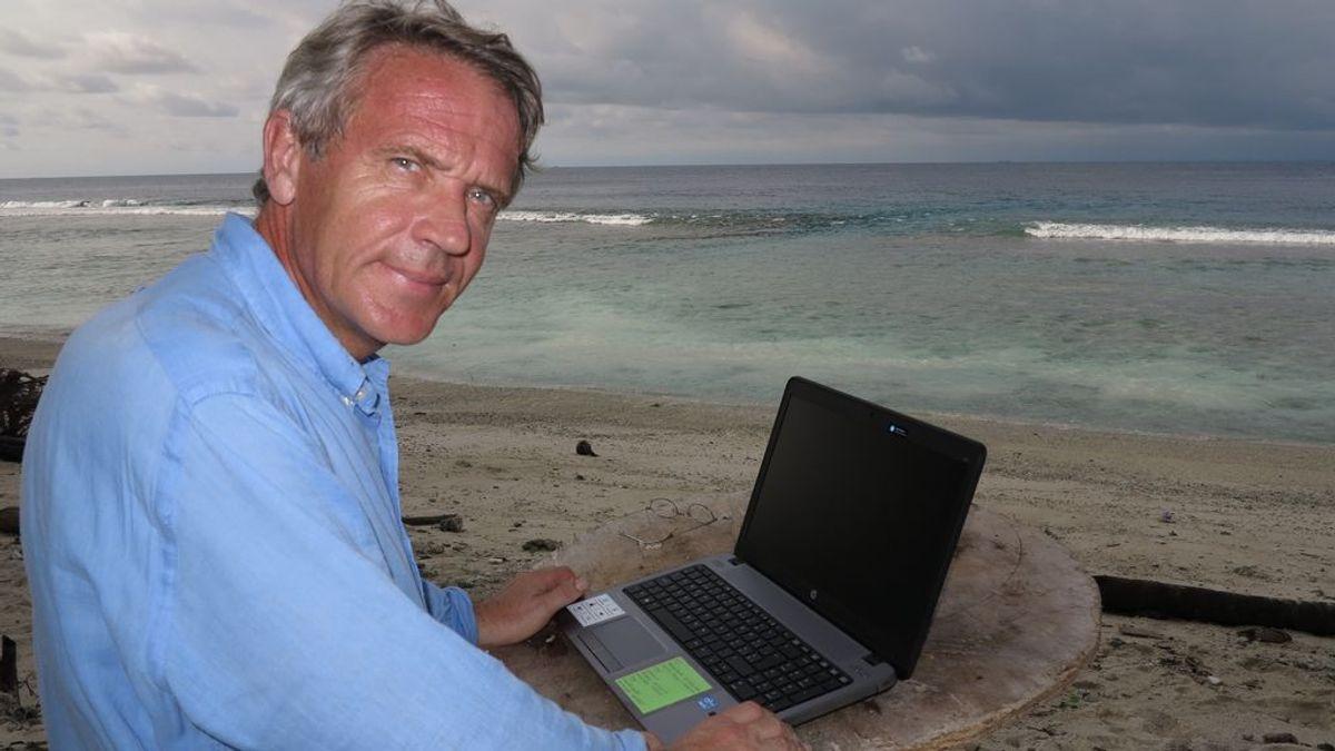 Vacaciones a lo Robinson Crusoe: el español que te organiza una experiencia en solitario en una isla desierta