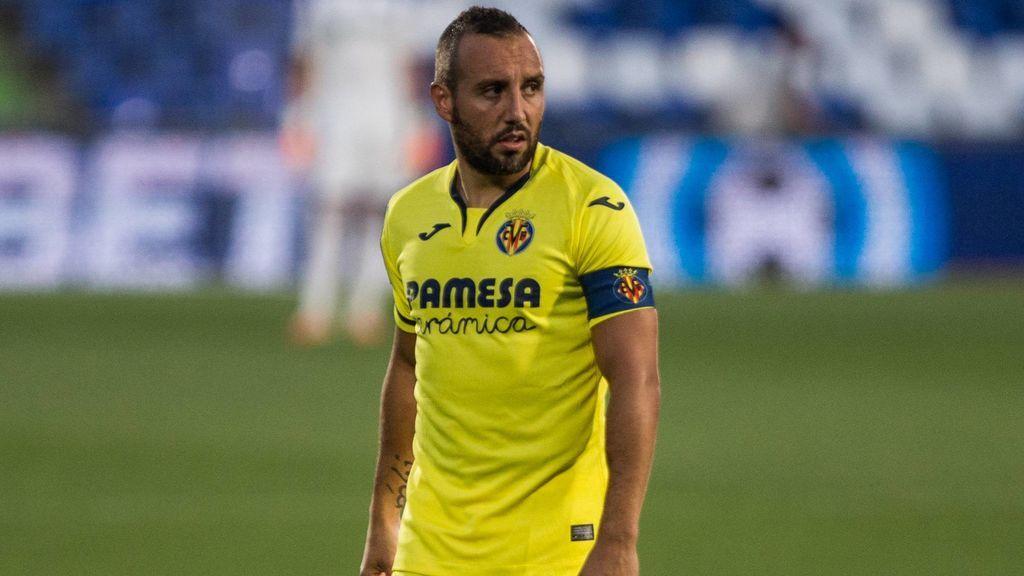 Santi Cazorla, en un partido con el Villarreal.