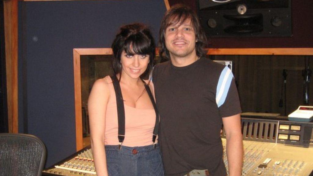 Lady Gaga, con su productor, Rob Fusari, con quien mantuvo un idilio.