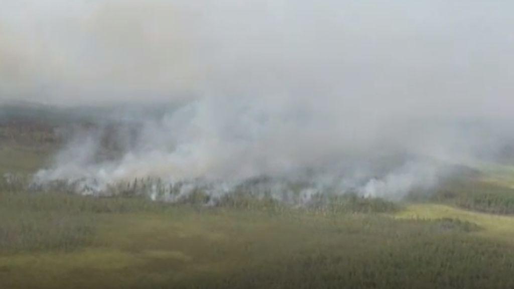Incendios en Rusia calcinan más de 380.000 hectáreas de la estepa siberiana