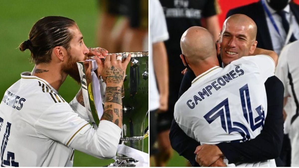 """Sergio Ramos y Zidane lideran las reacciones del Real Madrid campeón: """"Orgulloso de capitanear un equipo así"""""""