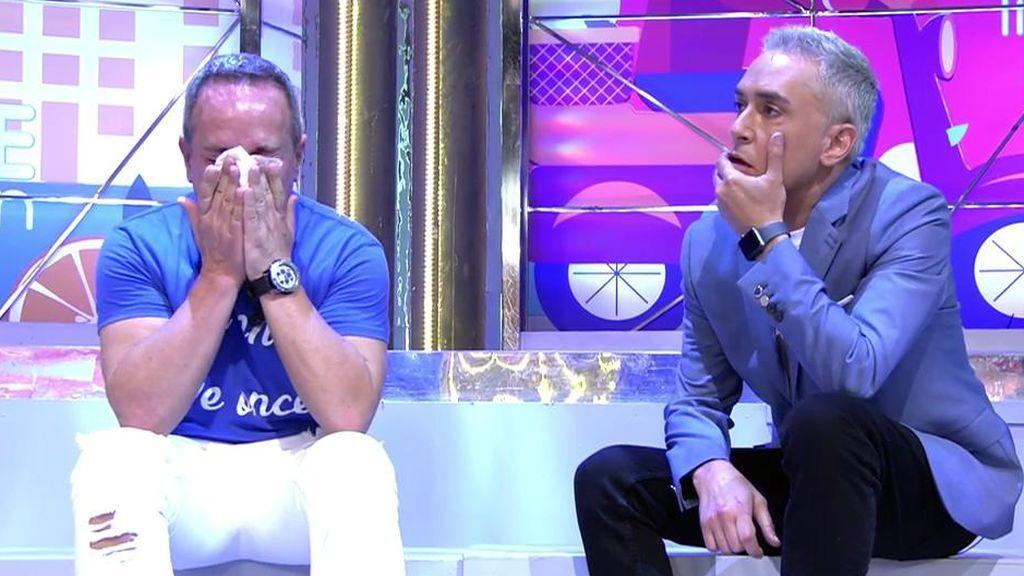 Víctor Sandoval se derrumba y cuenta por qué ya no puede más