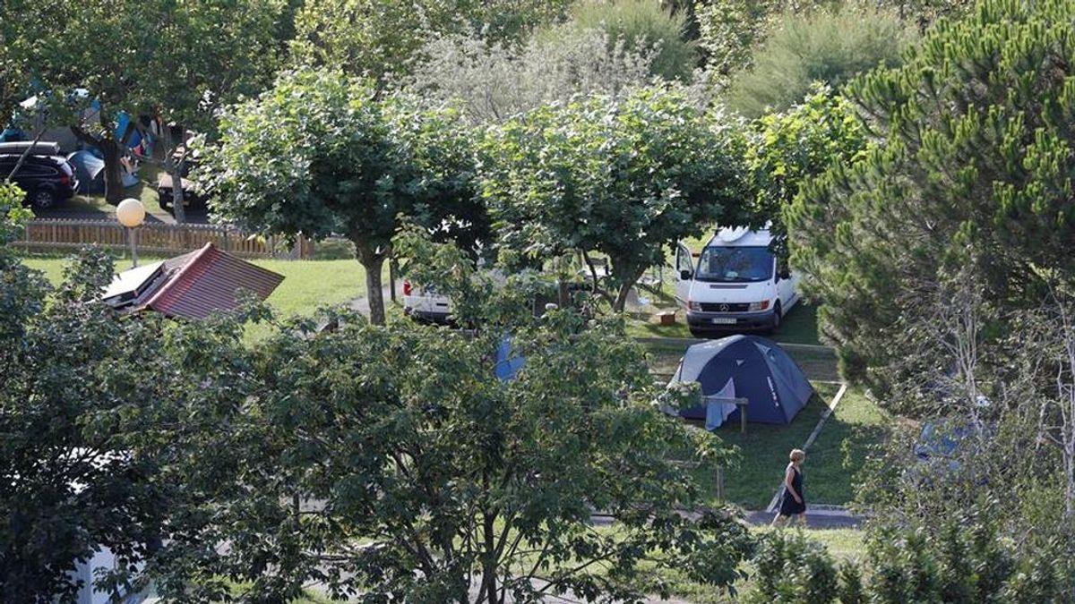 Reabren el camping de Zarautz al localizar 2 positivos y descartarse un foco