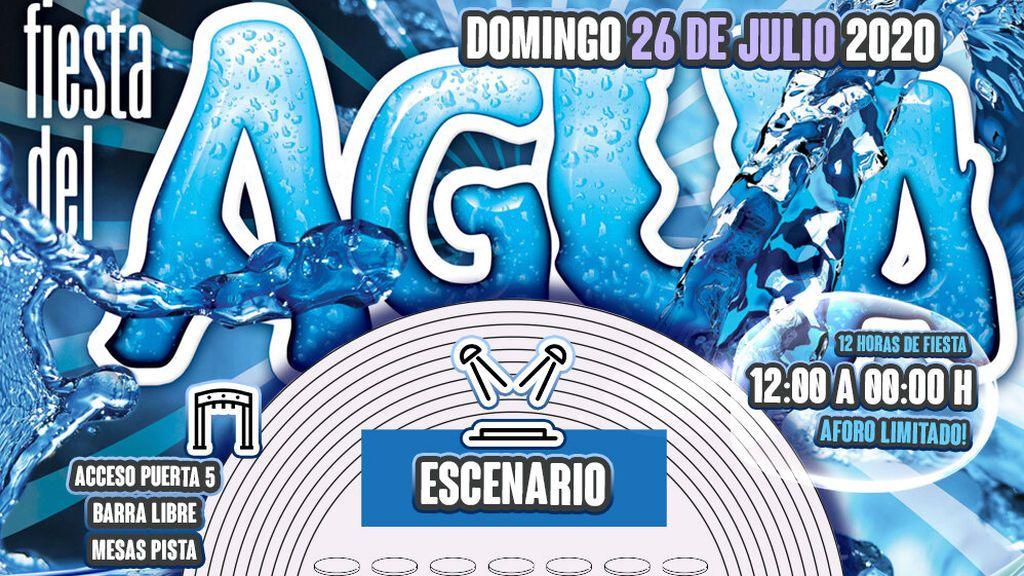 Suspendida la fiesta del agua de Cubierta de Leganés prevista para el próximo 26 de julio