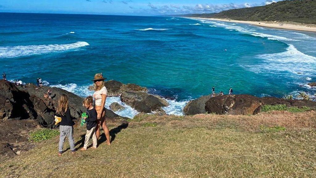 Elsa Pataky en sus vacaciones por Australia