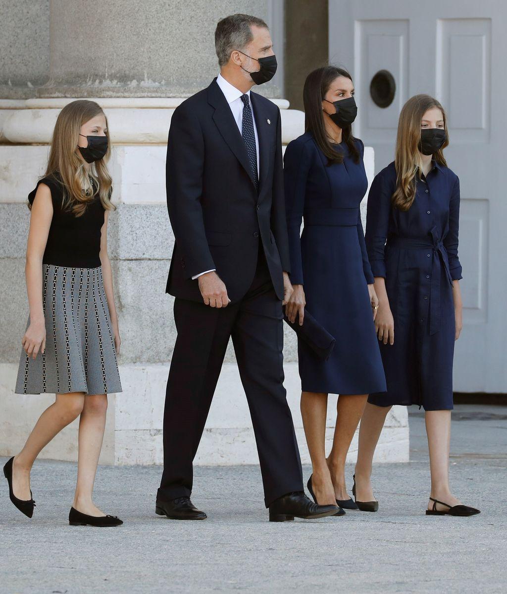 El acto ha sido celebrado en el Palacio Real de Madrid