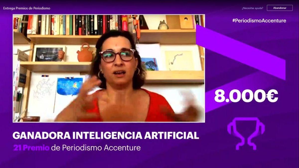 La jefa de Economía de NIUS, Rebeca Gimeno, premio Accenture de periodismo