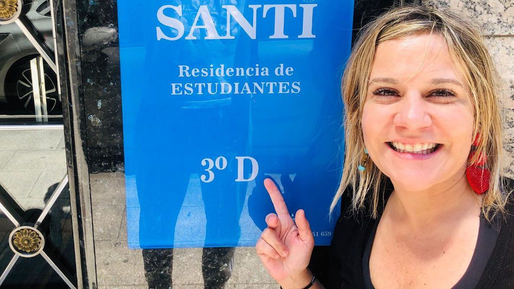Marta Gago ofrece alojamiento a los estudiantes en Santiago de Compostela