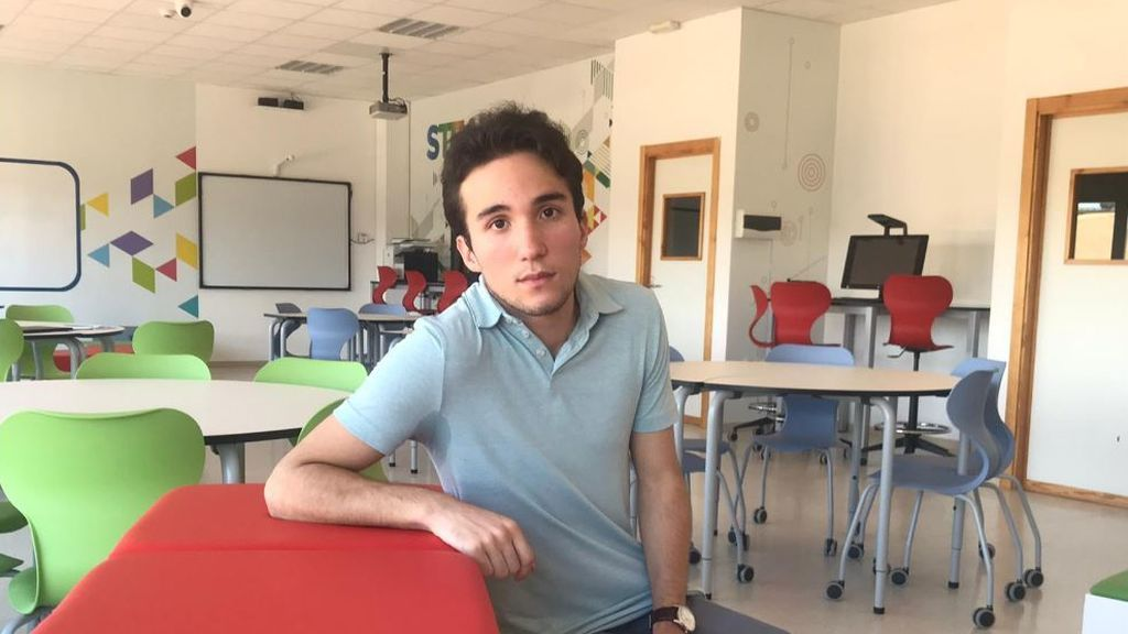 Fran, en su colegio