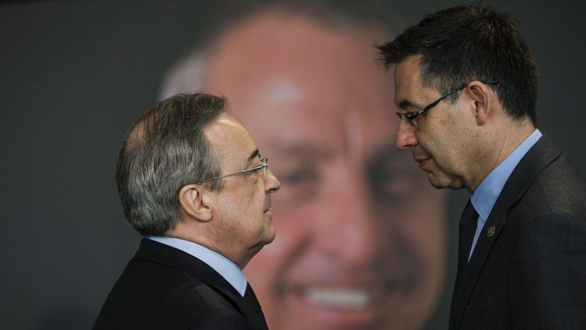 Florentino Pérez y Bartomeu: las cuatro diferencias entre una buena, y una mala gestión de un club