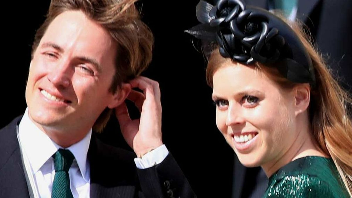 La princesa Beatriz y su prometido, Edoardo, en una imagen de agosto de 2019