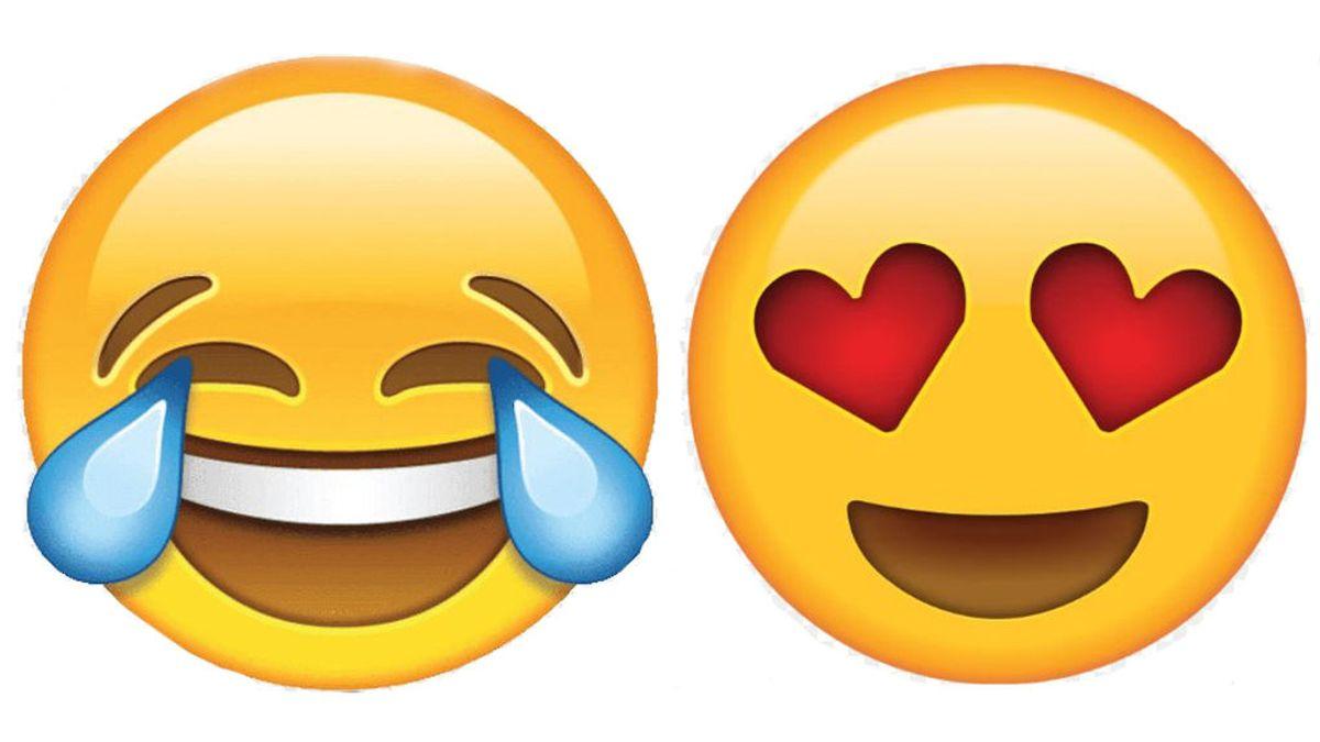 Día del Emoji:  La carita sonriente con lágrimas de risa, la que más usamos