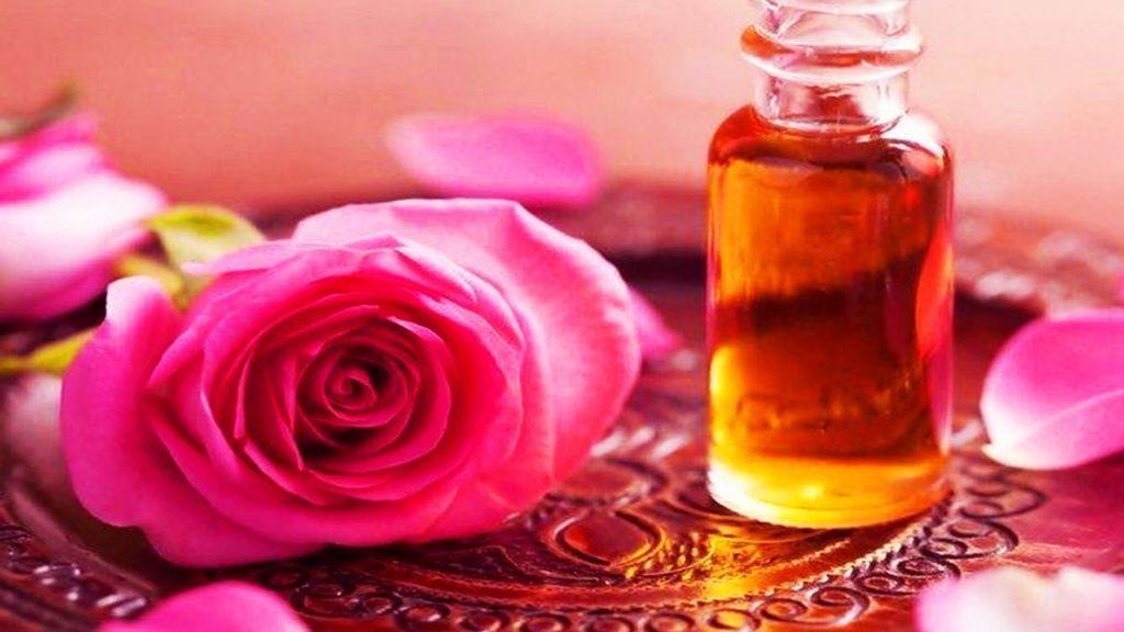 Aceite de almendra y rosas
