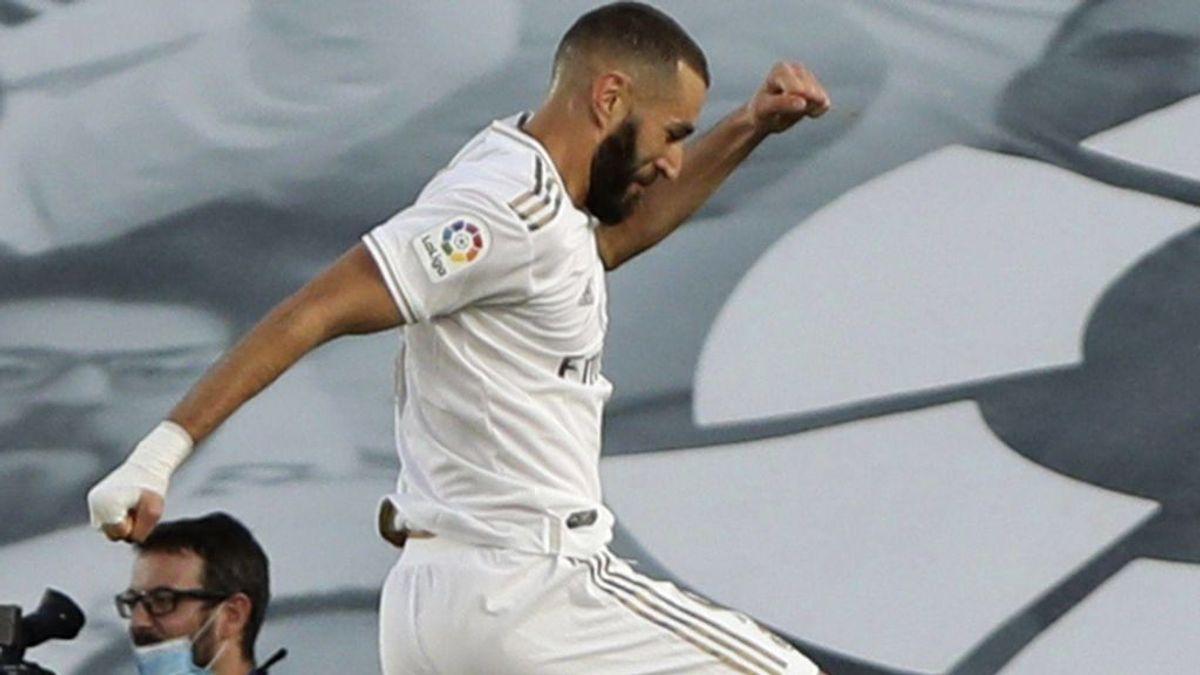 Los números de Benzema en Liga que presenta para ser candidato al Balón de Oro